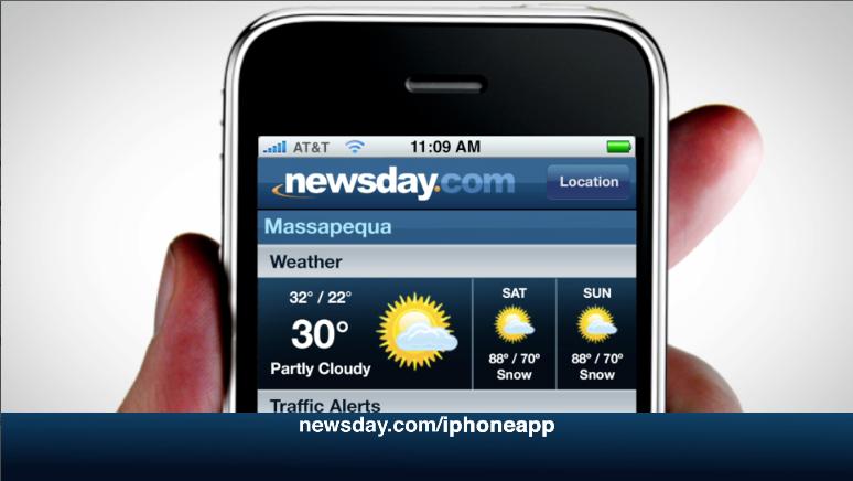 RUST'S NEWSDAY IPHONE APP PROMO